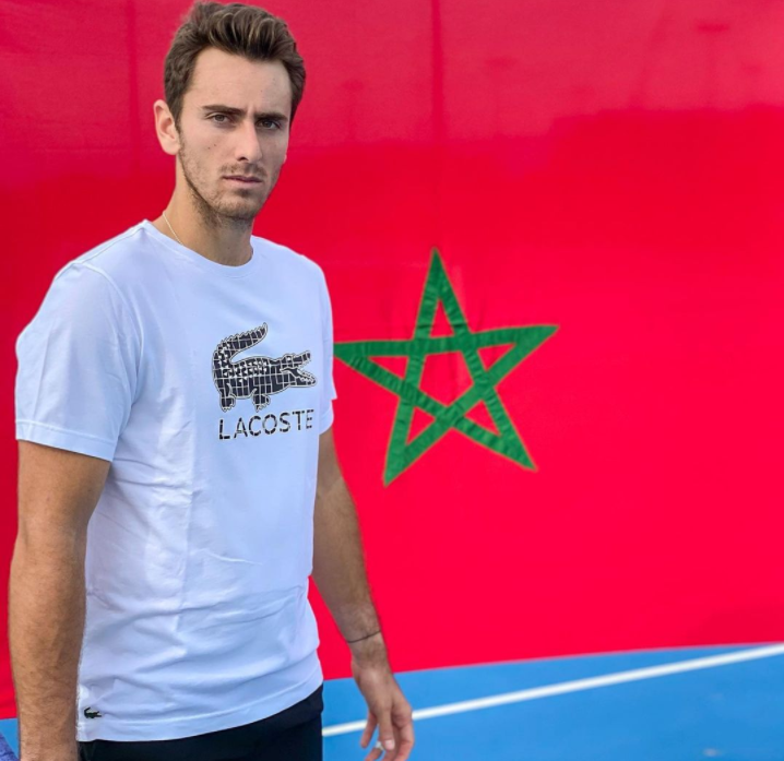 Elliot Benchetrit إليوت بنشيتريت TENNIS التنس maroc Fédération internationale de tennis المغرب الإتحاد الدولي للتنس MAROC FRANCE إليوت بنشيتريت كرة المضرب المغرب فرنسا