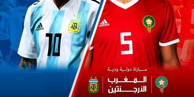 المغرب والأرجنتين المنتخب المغربي يواجه المنتخب الأرجنتيني في مباراتين وديتين أسود الأطلس تواجه راقصي التانجو MAROC ARGENTINE LION DE L ATLAS المغرب والأرجنتين