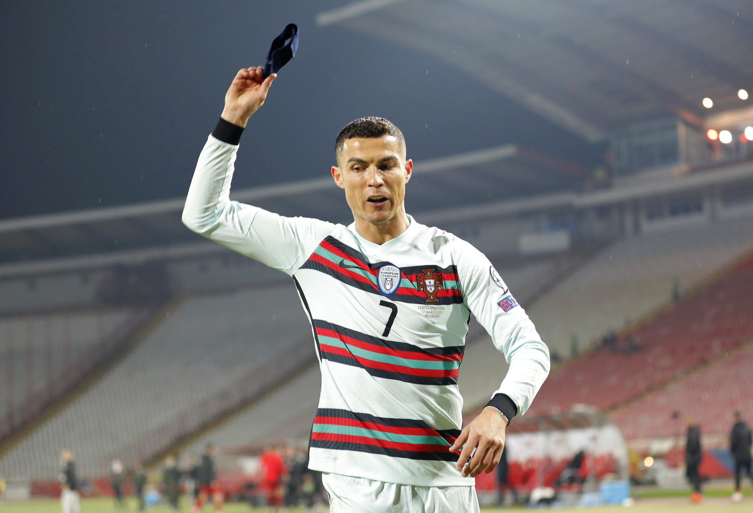 Cristiano Ronaldo, كريستيانو رونالدو, serbie vs portugal, 2022, coupe du monde Qatar 2022, غضب كريستيانو رونالدو, صربيا و البرتغال, قطر 2022