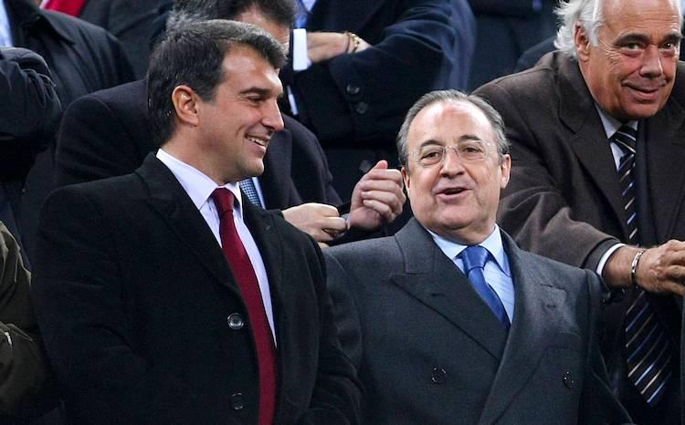 ريال مدريد يوجه رسالة لغريمه برشلونة