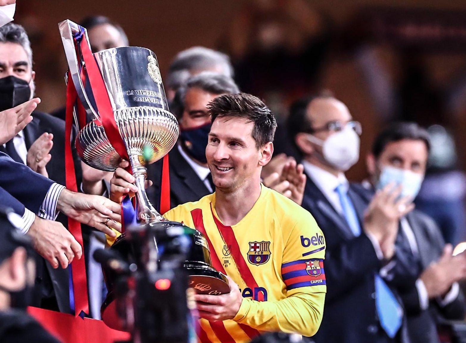 برشلونة يتوج بكأس الملك على حساب بيلباو