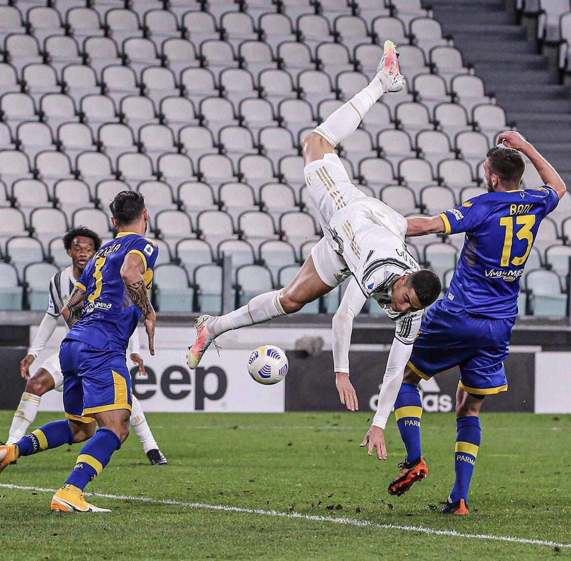 ارتقاء وسقوط رونالدو, كريستيانو رونالدو, Cristiano Ronaldo, juventus, Parma, بارما