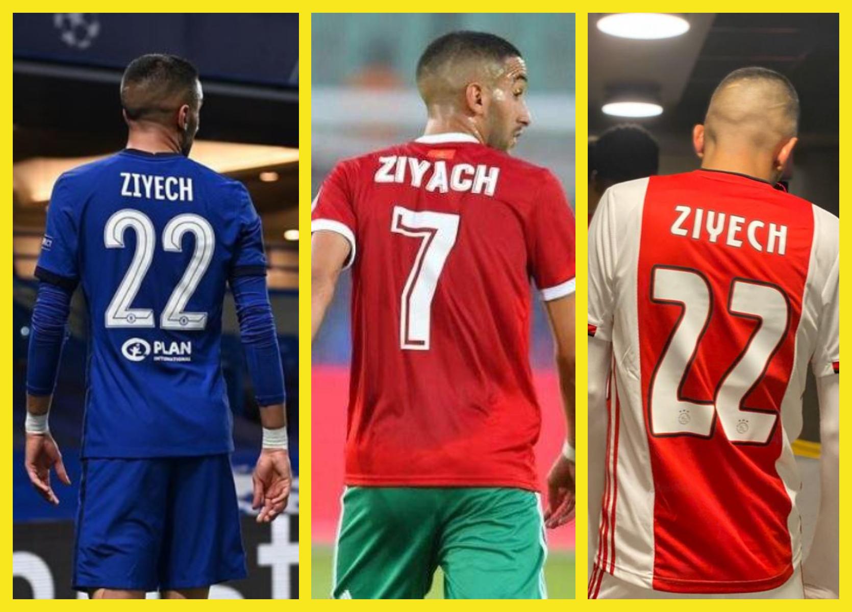 ziyech, ziyach, chelsea, ajax, Maroc, maillot ziyech, maillot zyach, hakim ziyech, hakim ziyach, tenu ziyech,زياش, حكيم زياش, تشيلسي ,المغرب