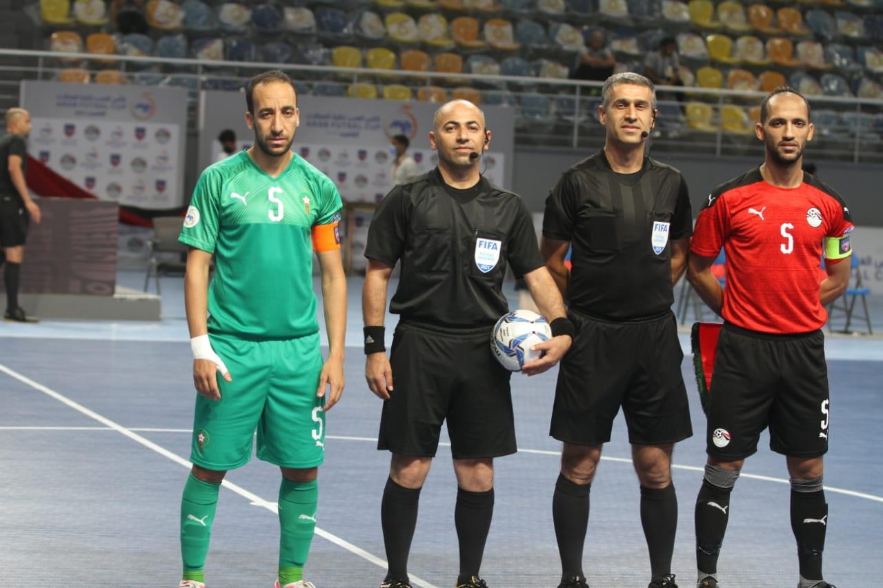 بث مباشر لمباراة نهائي كأس البطولة العربية لكرة الصالات بين المغرب ومصر
