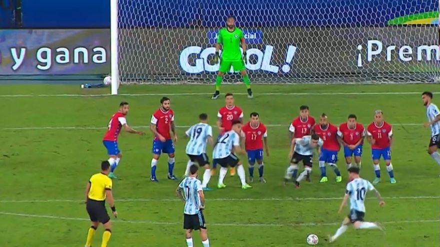 هدف ليونيل ميسي, MESSI, but messi, الأرجنتيني ليونيل ميسي, تشيلي, CHILI, كوبا أمريكا 2021, Copa America 2021, هدف ميسي