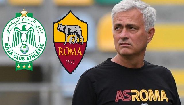 مباراة الرجاء وروما الإيطالي, الرجاء الرياضي وروما الإيطالي, Raja-As Rome, As Rome-Raja