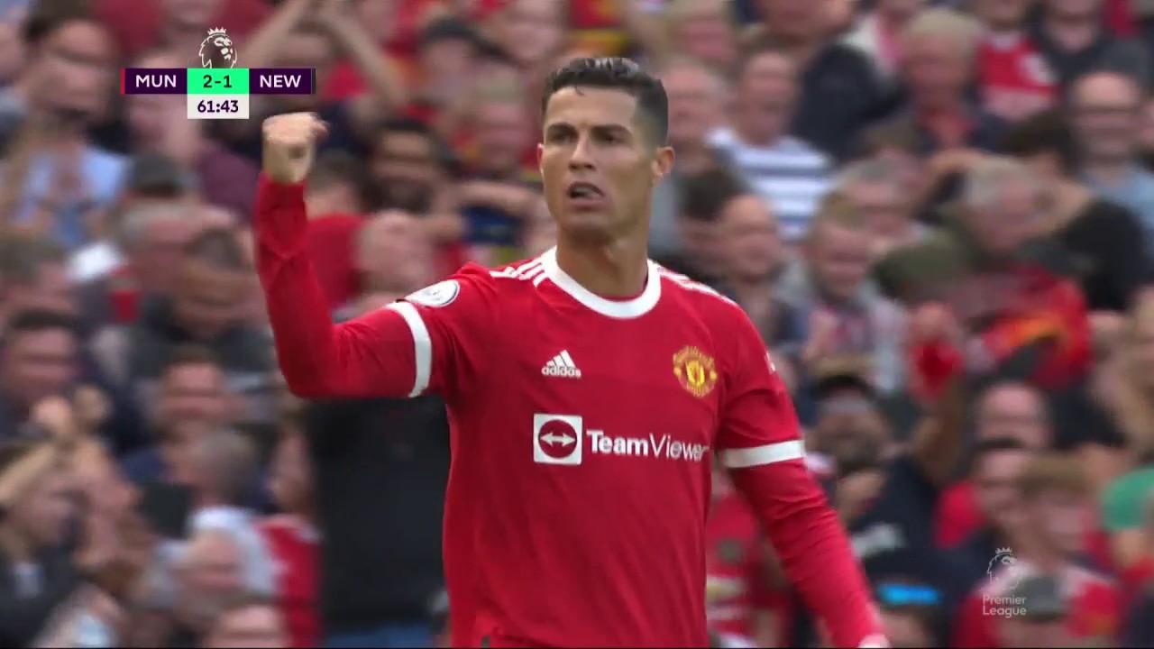 , ثنائية رونالدو مانشستر يونايتد, رونالدو, رونالدو يسجل أول ثنائية مانشستر يونايتد, goal ronaldo, goal Cristiano