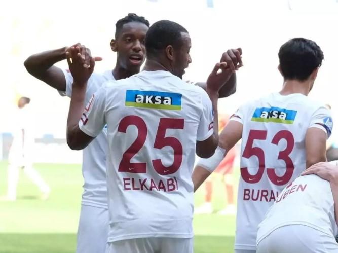 هدف الكعبي أيوب في الدوري التركي, اللاعب المغربي أيوب الكعبي, هاتاي سبور, Ayoub El Kaabi, Süper Lig, Hatayspor