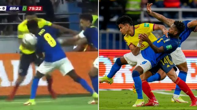 لويس دياز, لويس دياز الكولومبي, مرواغة لويس دياز الكولومبي الخرافية أمام البرازيل في تصفيات كأس العالم 2022, luis diaz