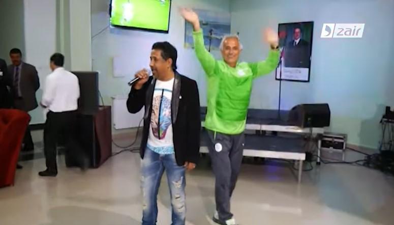 وحيد خليلوزيتش يرقص على أغاني الشاب خالد, وحيد خليلوزيتش, وحيد خاليلوزيتش, vahid halilhodzic